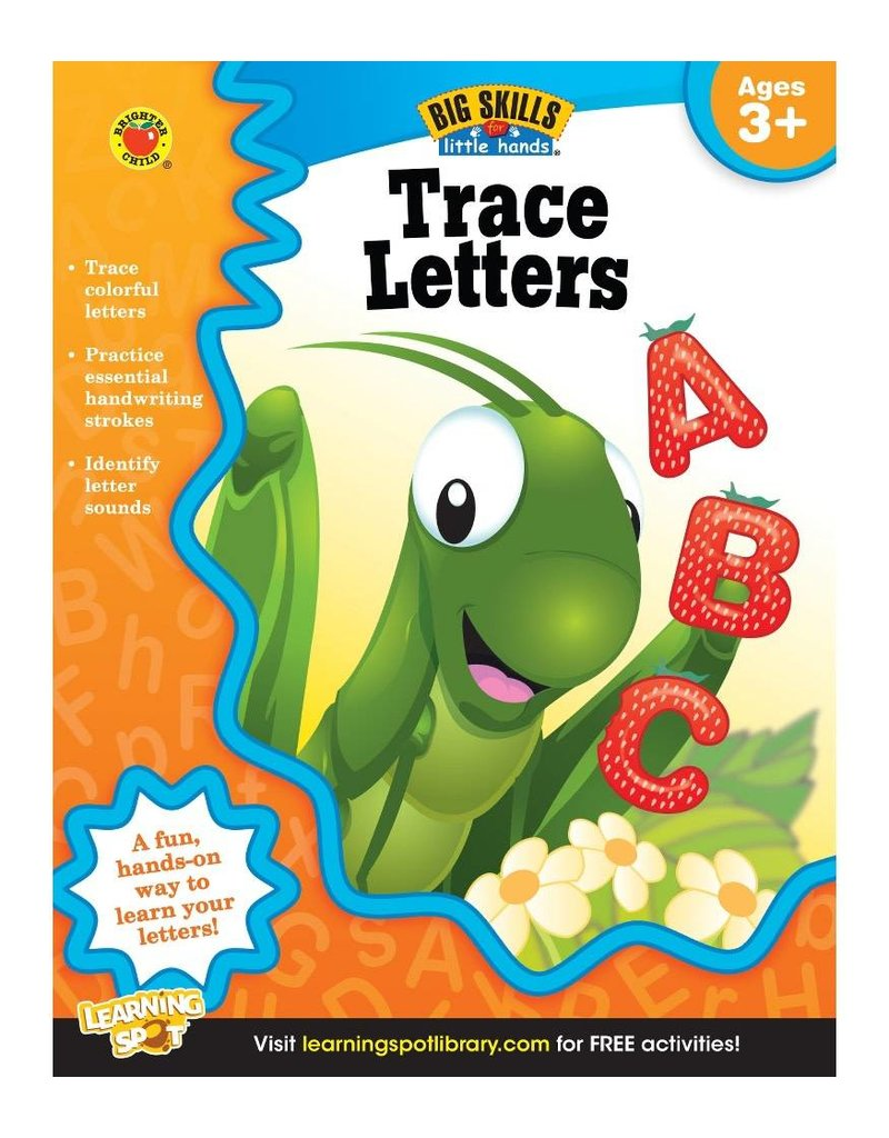 Big Skills for Little Hands®: Trace Letters (Ages 3+) Book