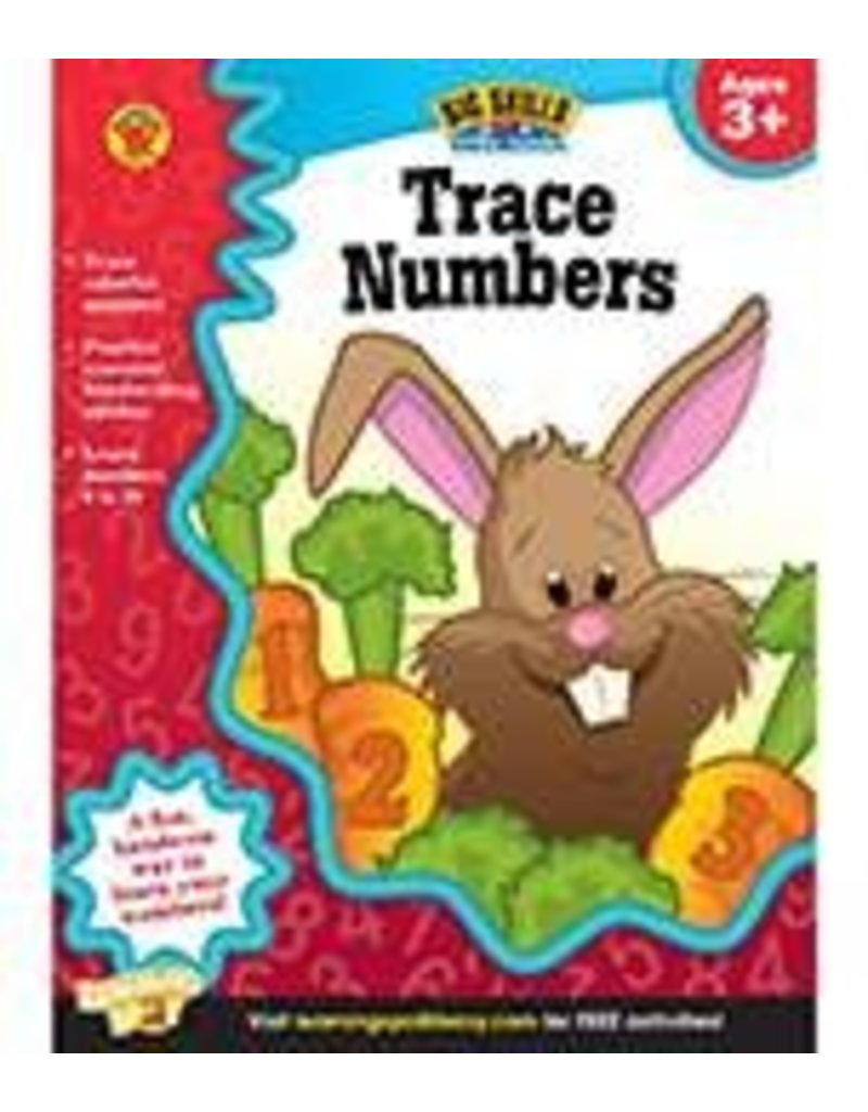 Big Skills for Little Hands®: Trace Numbers (Ages 3+) Book