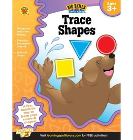 Big Skills for Little Hands®: Trace Shapes (Ages 3+) Book