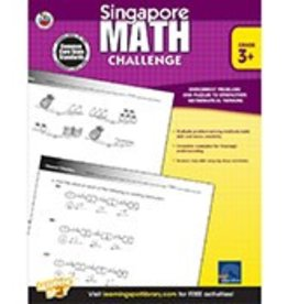 Singapore Math Challenge (3+) Book