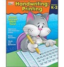 Brighter Child™ Handwriting: Printing Workbook