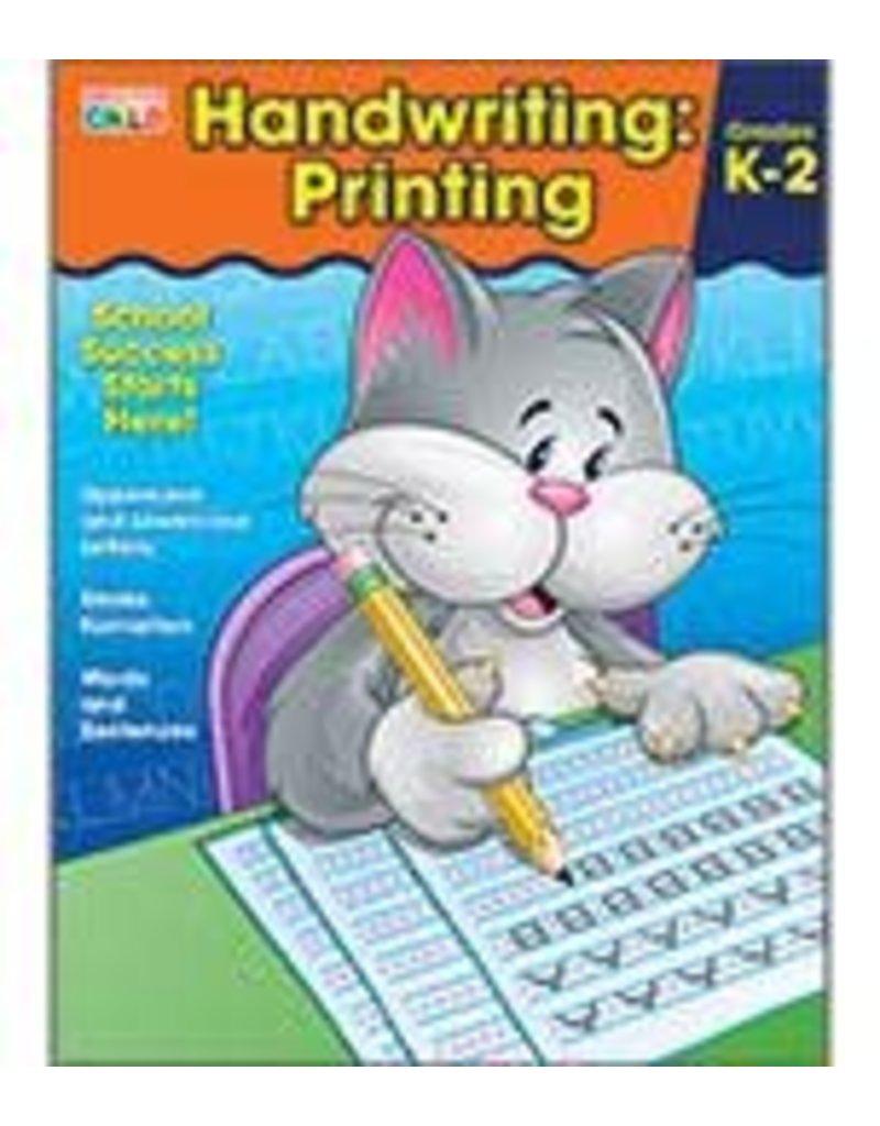 Brighter Child™ Handwriting: Printing Workbook