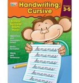 Brighter Child™ Handwriting: Cursive Workbook