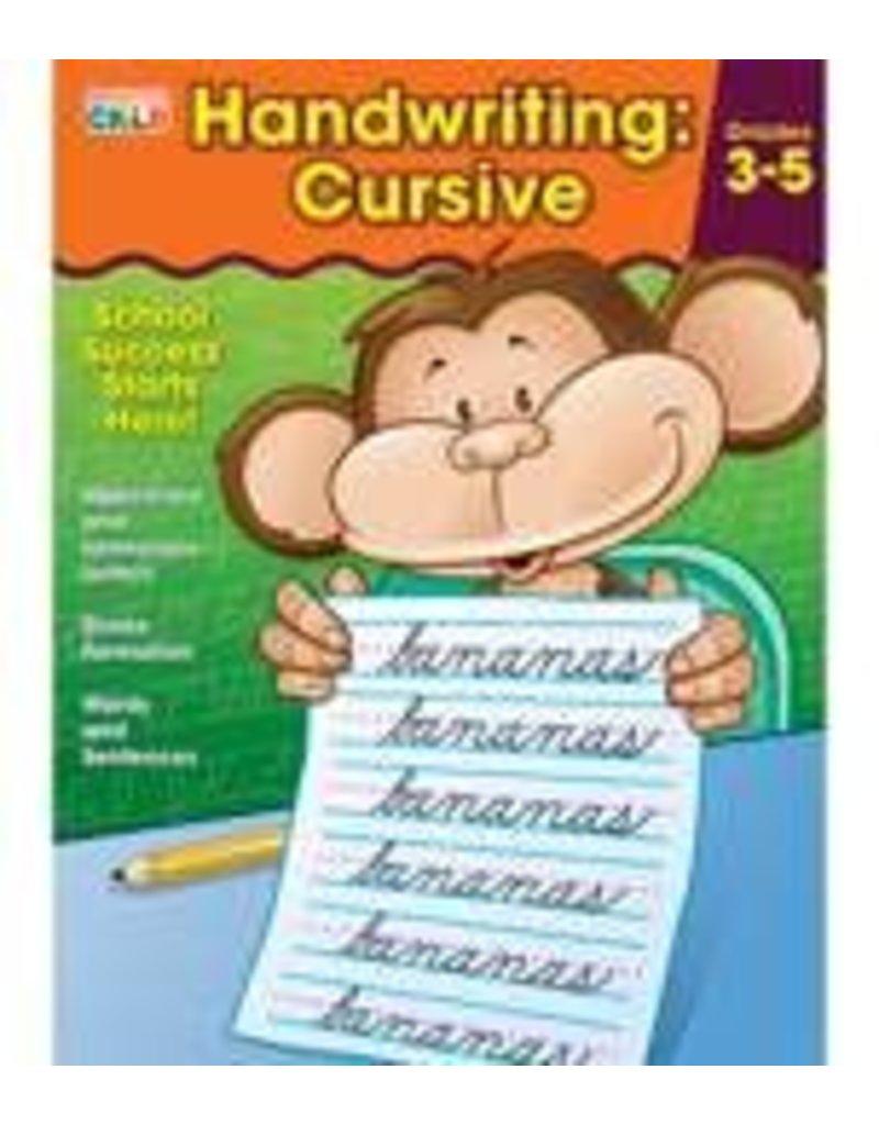 Brighter Child™ Handwriting: Cursive Workbook