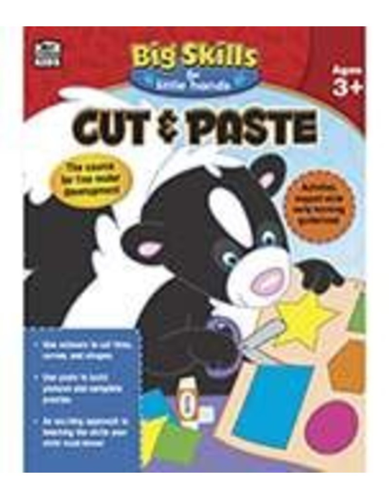 Big Skills Cut & Paste (3 and up) Book