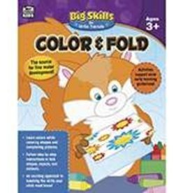 Big Skills Color & Fold (3 and up) Book
