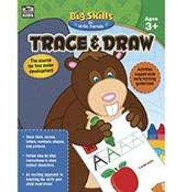 Big Skills Trace & Draw (3 and up) Book