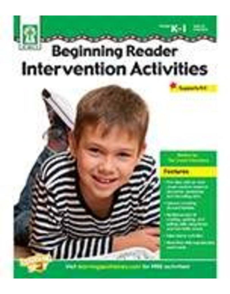 *Beginning Reader Intervention Activities (Grades K-1)