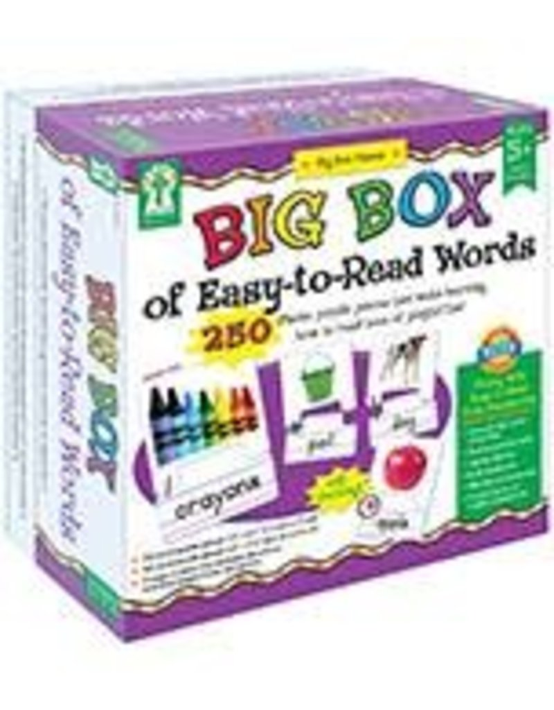 Big Box of EasytoRead Words Game