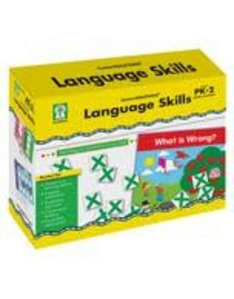 Language Skills Mini File Folder Games