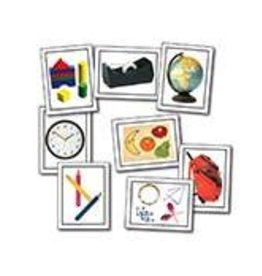 *Nouns: Things at School Learning Cards