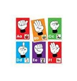 Alphabet: Signs, Letters, Sounds Learning Cards