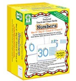 Numbers Textured Touch and Trace Cards