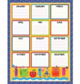 School Tools Birthday Chart