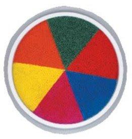 6 in 1 Rainbow  Jumbo Circular Washable Pads