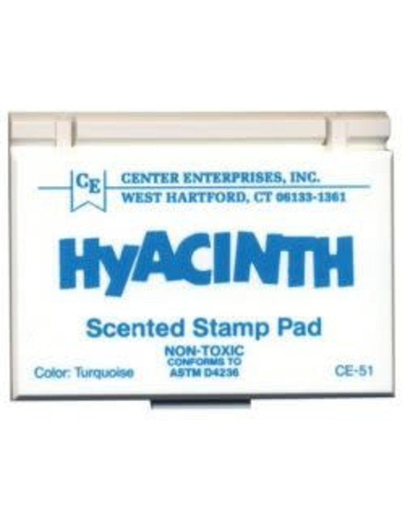 Scented Stamp Pad: Turquoise/Hyacinth