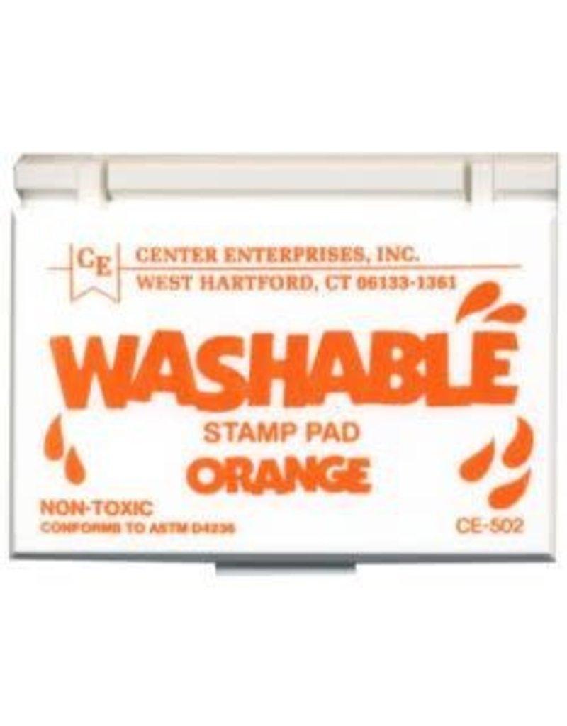Washable Stamp Pad: Orange