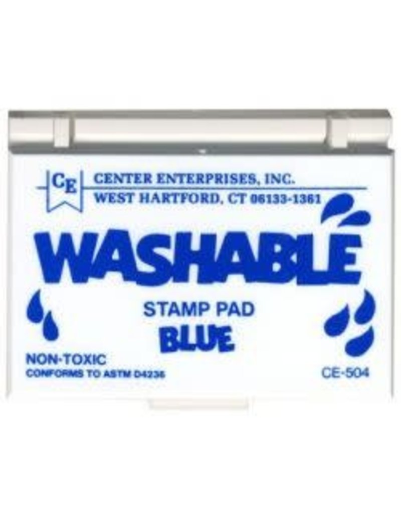 Washable Stamp Pad: Blue