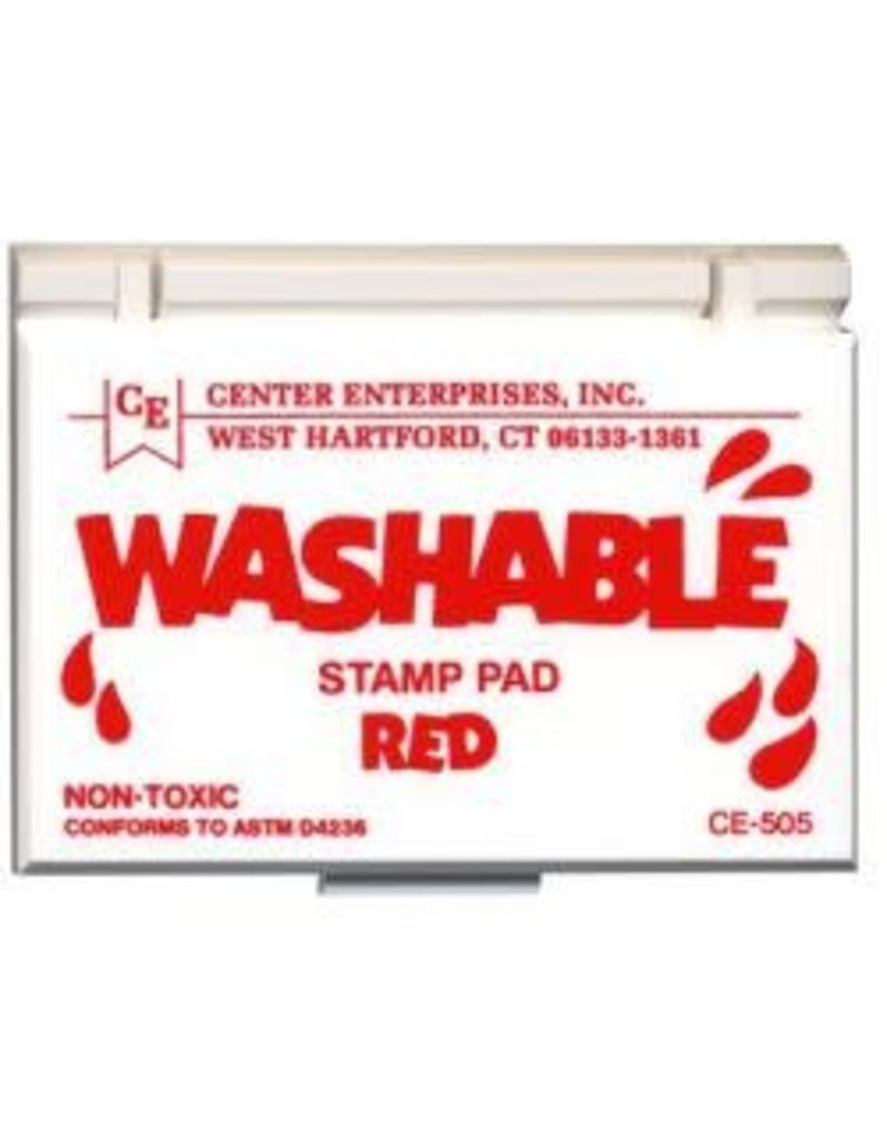 Washable Stamp Pad: Red