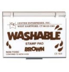 Washable Stamp Pad: Brown