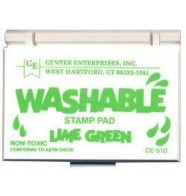 Washable Stamp Pad: Lime Green