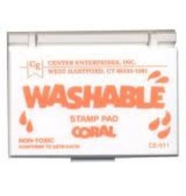 Washable Stamp Pad Coral