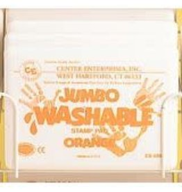 Jumbo Washable Pad: Orange