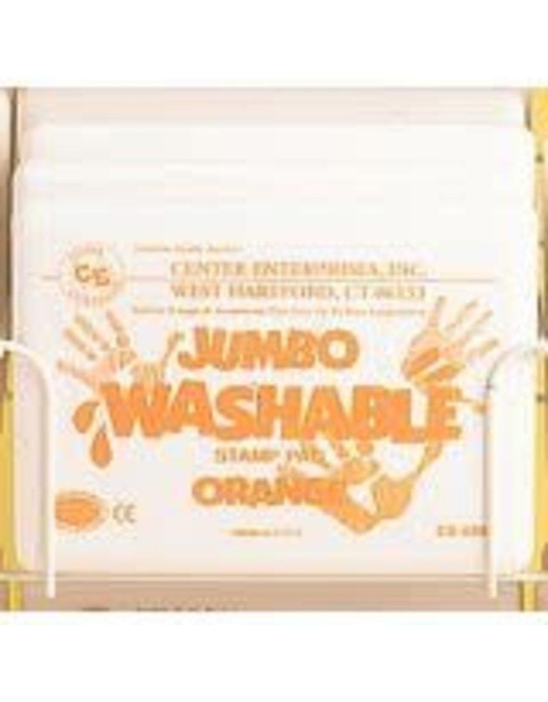 Jumbo Washable Pad: Orange
