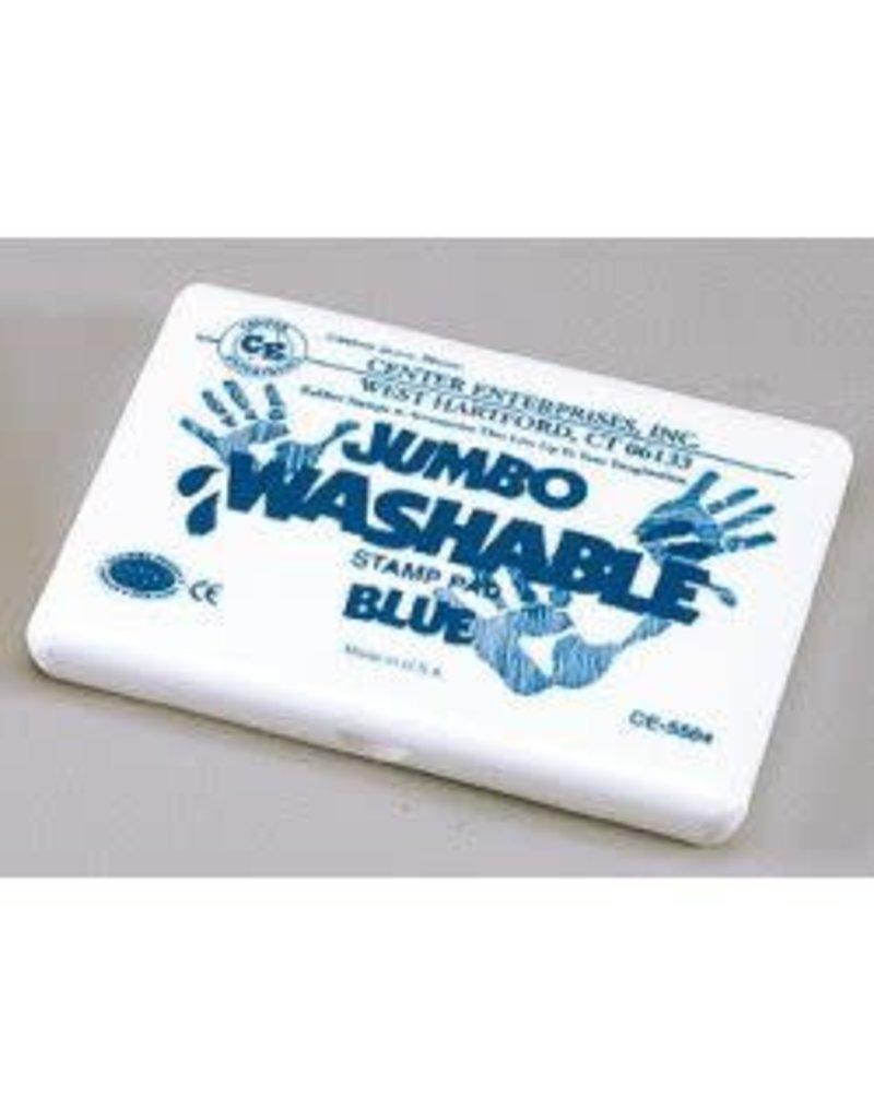 Jumbo Washable Pad: Blue