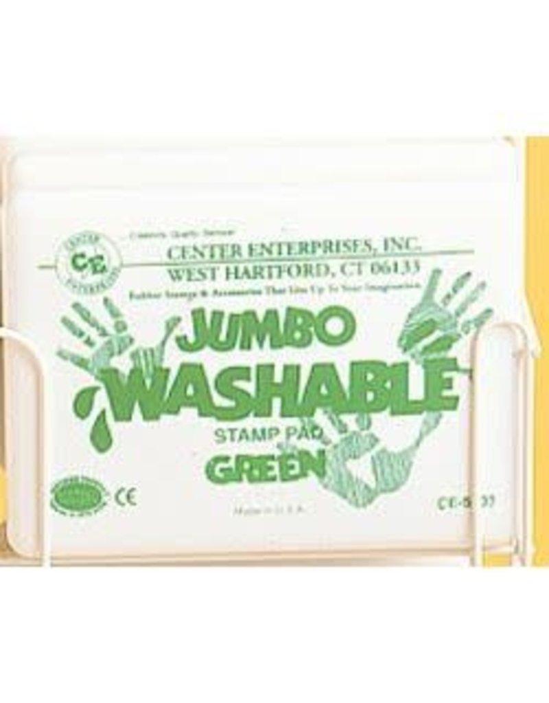 Jumbo Washable Pad: Green