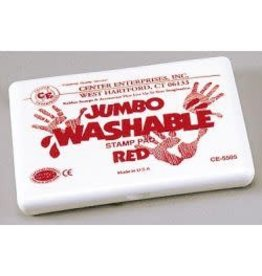 Jumbo Washable Pad: Red