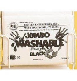 Jumbo Washable Pad: Black