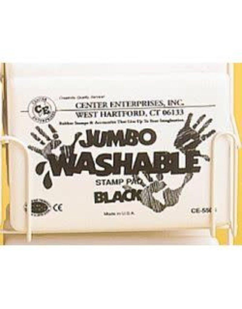 Jumbo Washable Pad: Black