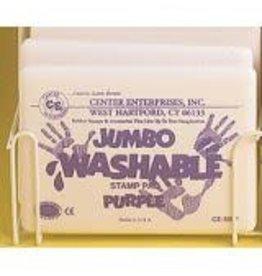 Jumbo Washable Pad: Purple