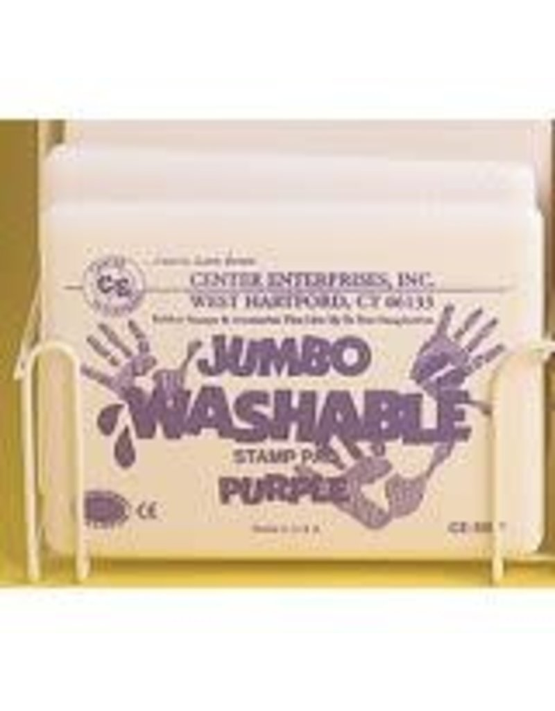 Jumbo Washable Pad: Purple
