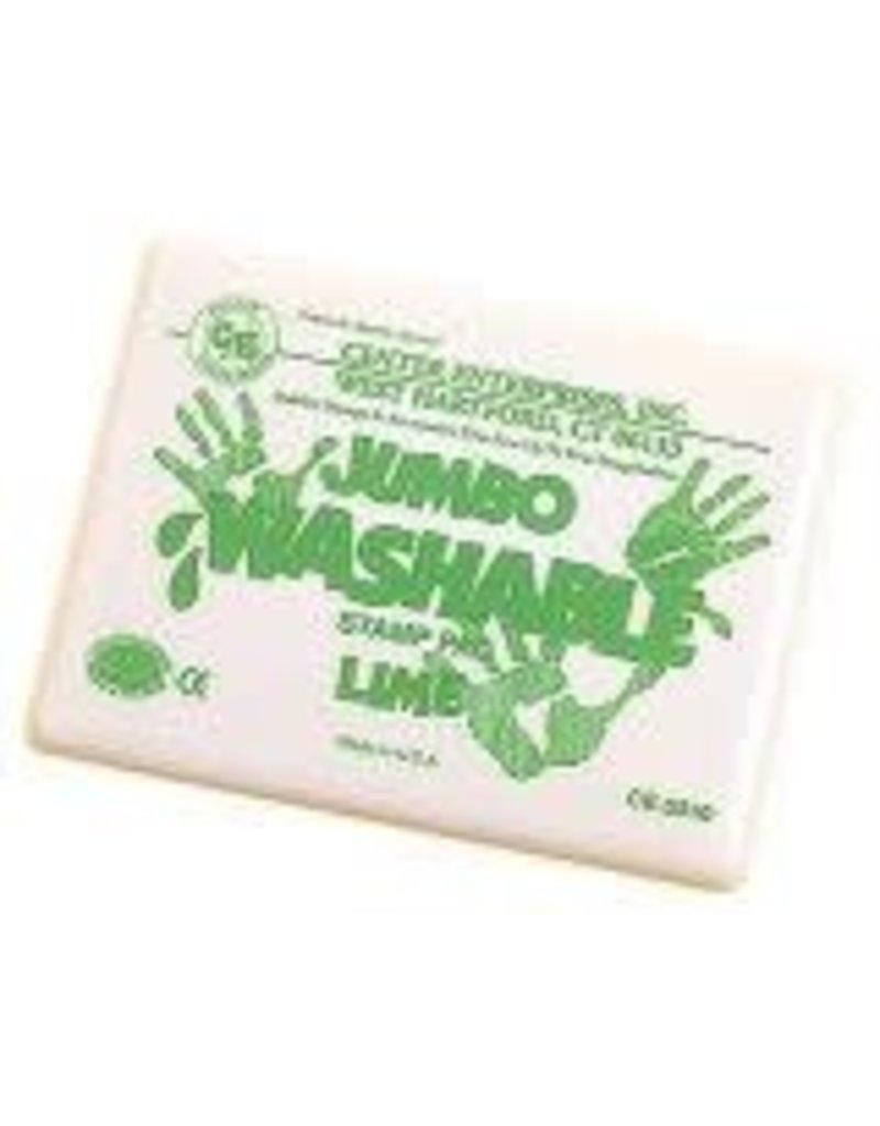 Jumbo Washable Pad: Lime Green