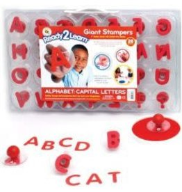 Uppercase Alphabet Stampers
