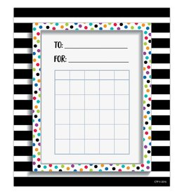 Bold & Bright Spots & Stripes Student Incentive Charts