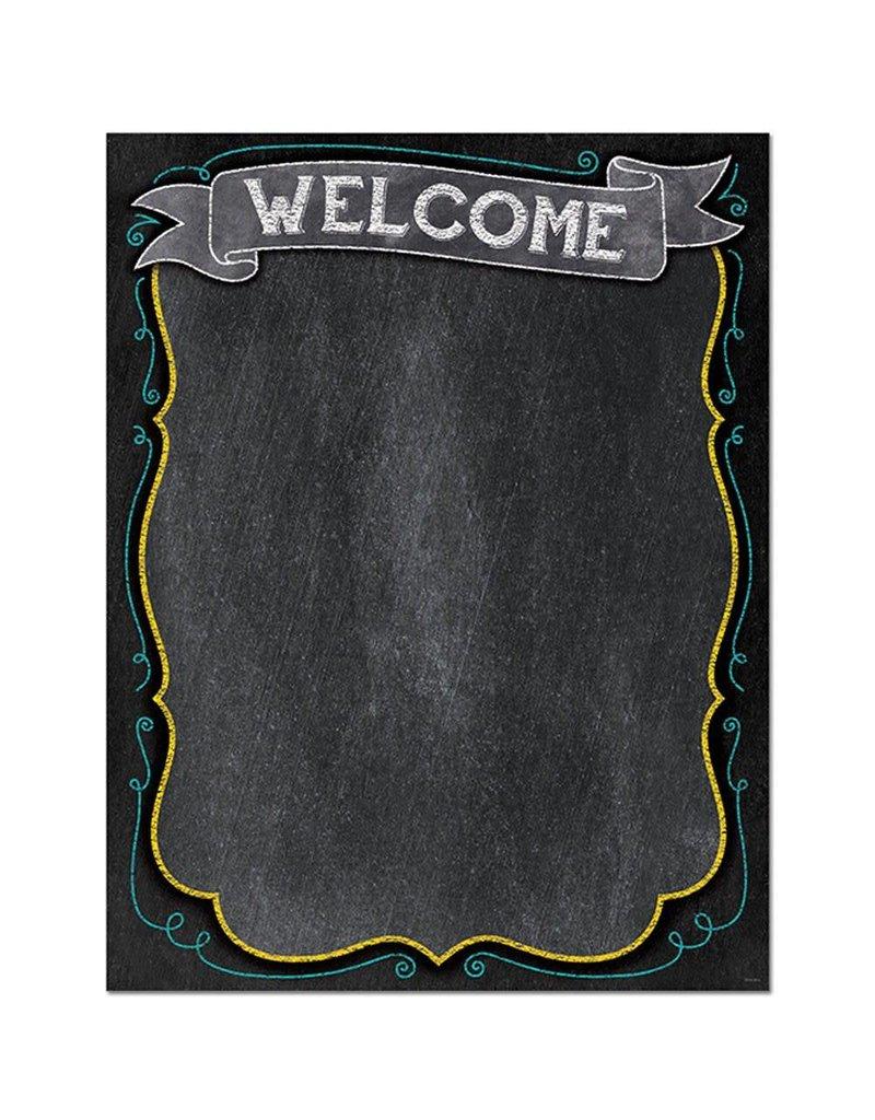 Chalk!! Welcome Chart