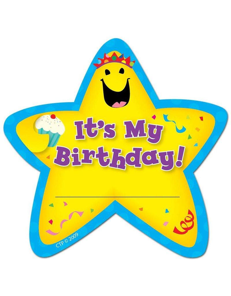 It's My Birthday! Star Badges