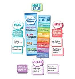 Math Talk Mini Bulletin Board