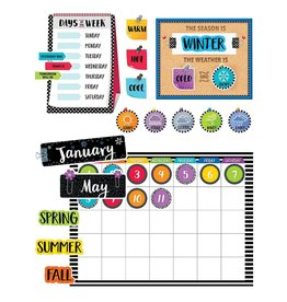 Bold & Bright Calendar Set Bulletin Board
