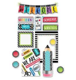 Bold & Bright Welcome Bulletin Board