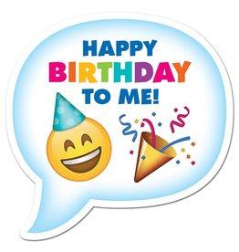 Emoji Fun Birthday Badge