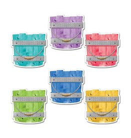 """Upcycle Style Buckets 6"""" Cut-Outs"""