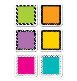 """Bold & Bright Colorful Cards 3"""" Cut-Outs"""