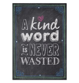 A kind word is never wasted… Inspire U Poster