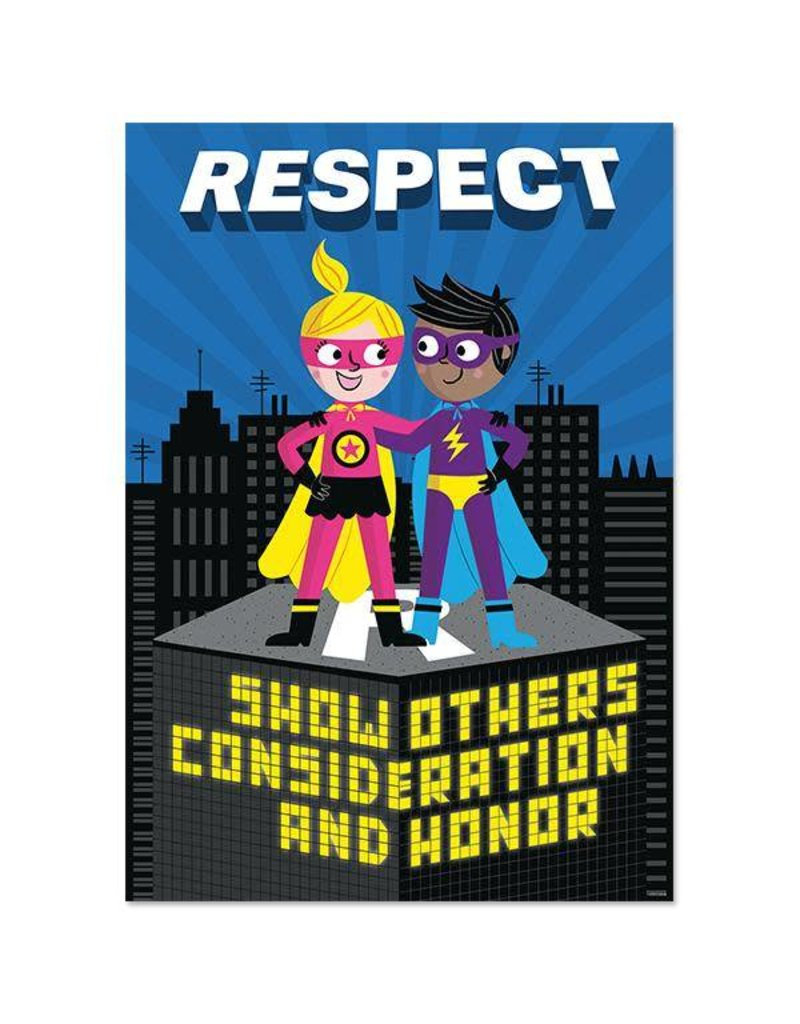 *Respect Superhero Inspire U Poster