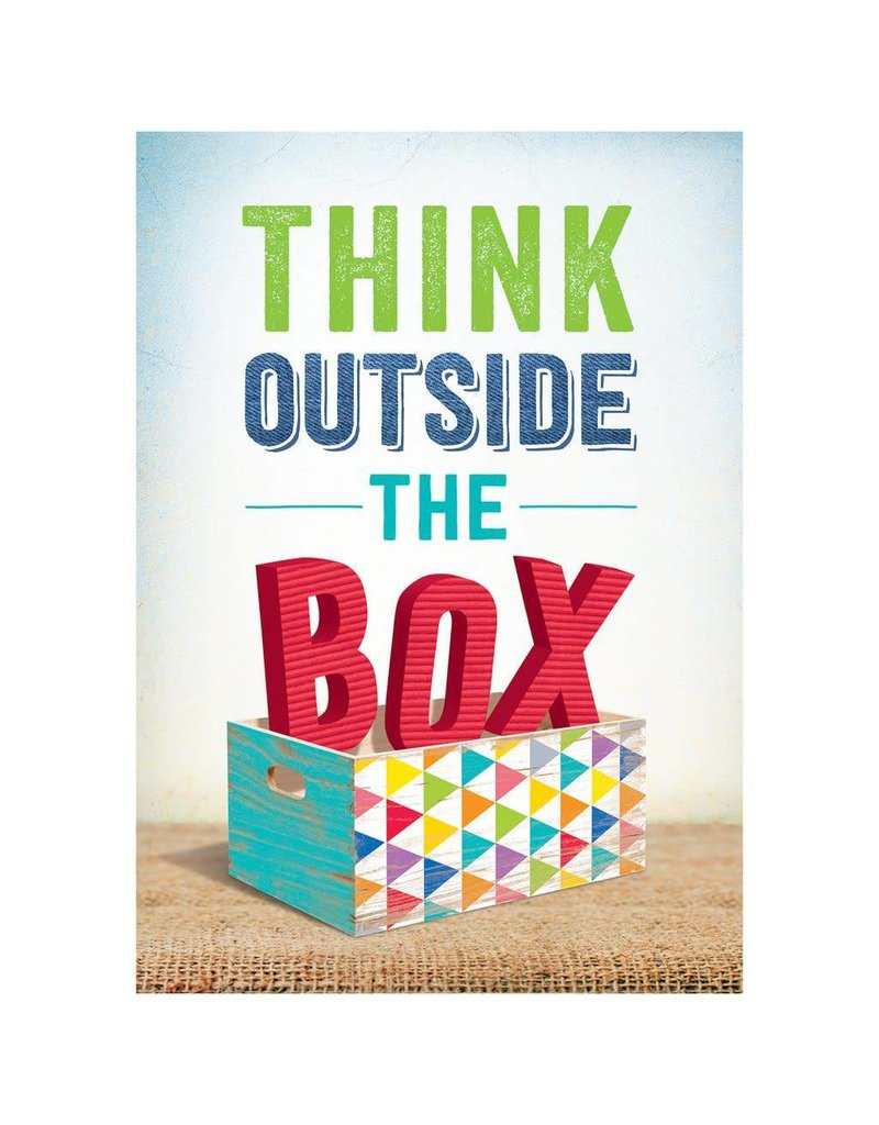 Upcycle Style Think Outside The Box. Inspire U Poster