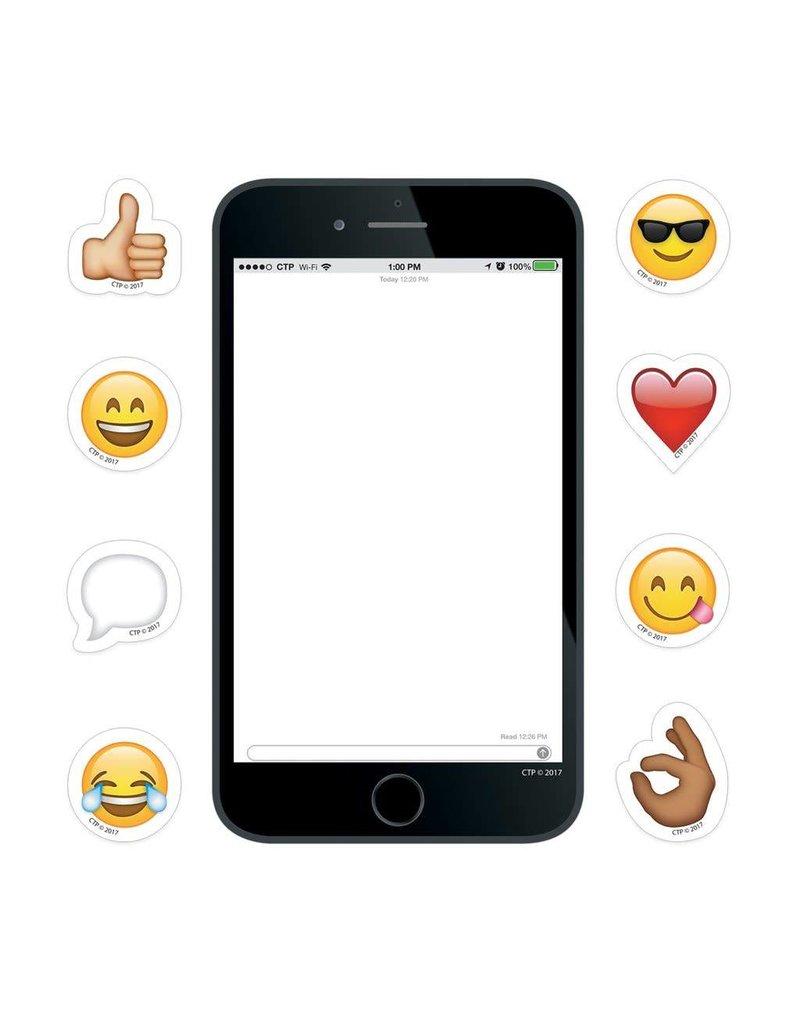 """Emoji Smartphone 6"""" Cut-Outs"""